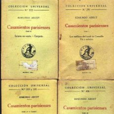 Libros antiguos: CASAMIENTOS PARISIENSES. Lote 119526691