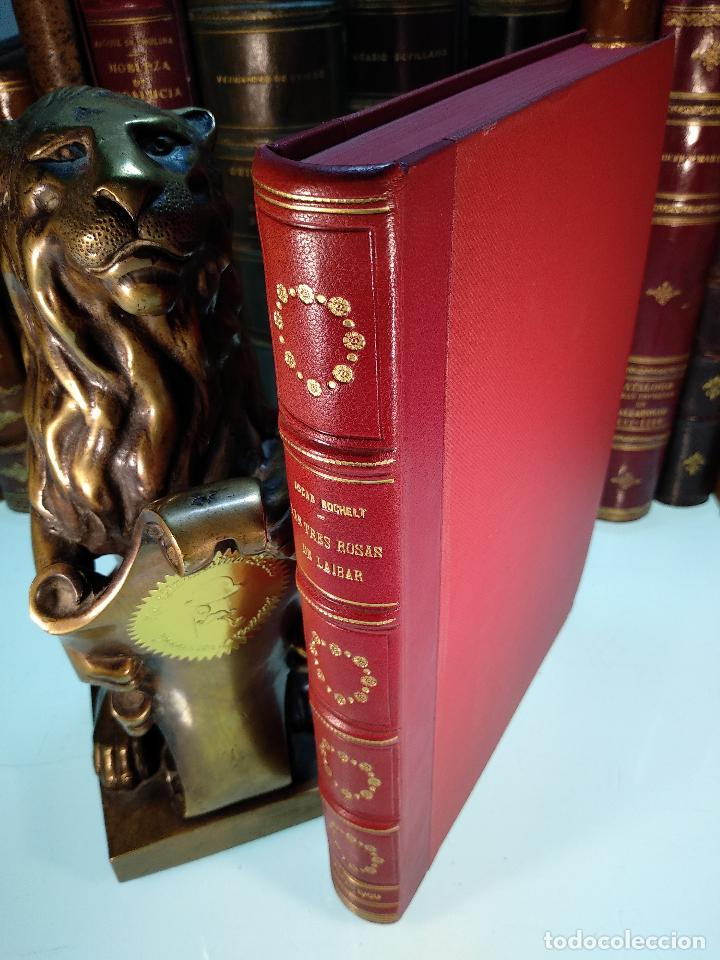 LAS TRES ROSAS DE LAIBAR - OSCAR ROCHELT Y DANIEL LECANDA - COLECC. EL COFRE BILBAINO - 1969 -BILBAO (Libros antiguos (hasta 1936), raros y curiosos - Literatura - Narrativa - Novela Histórica)