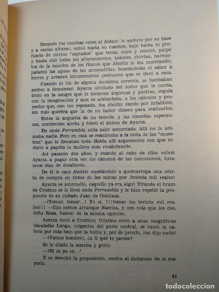 Libros antiguos: LAS TRES ROSAS DE LAIBAR - OSCAR ROCHELT Y DANIEL LECANDA - COLECC. EL COFRE BILBAINO - 1969 -BILBAO - Foto 5 - 122666587