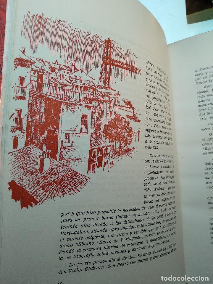 Libros antiguos: LAS TRES ROSAS DE LAIBAR - OSCAR ROCHELT Y DANIEL LECANDA - COLECC. EL COFRE BILBAINO - 1969 -BILBAO - Foto 6 - 122666587