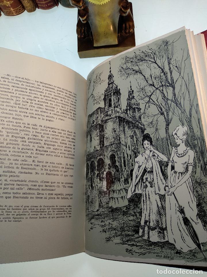 Libros antiguos: LAS TRES ROSAS DE LAIBAR - OSCAR ROCHELT Y DANIEL LECANDA - COLECC. EL COFRE BILBAINO - 1969 -BILBAO - Foto 7 - 122666587