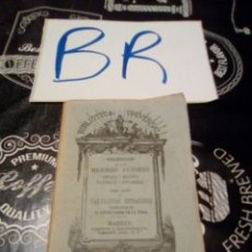Libros antiguos: BIBLIOTECA UNIVERSAL MEJORES AUTORES TOMO LXXV FABULISTAS EXTRANJEROS MADRID 1881. Lote 123290475