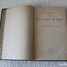 Libros antiguos: BENITO PEREZ GALDÓS. EL AUDAZ. HISTORIA DE UN RADICAL DE ANTAÑO - 1ª EDICION 1871. Lote 123772783