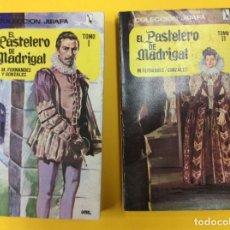 Libros antiguos: EL PASTELERO DE MADRIGAL TOMO I Y TOMO II. ED. TESORO.1967. Lote 124185295