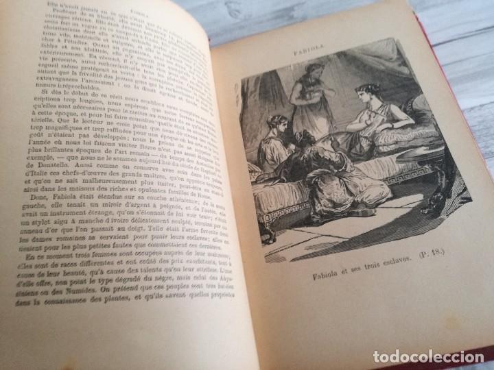 Libros antiguos: FABIOLA OU LÉGLISE DES CATACOMBES - CARDENAL WISEMAN - ILUSTRADO - Foto 3 - 124567847