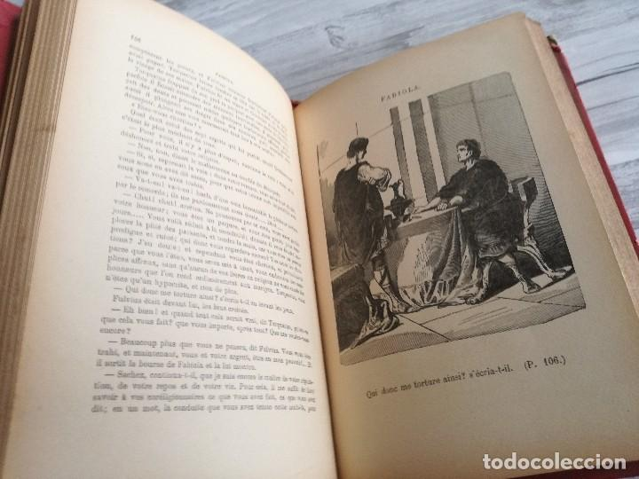 Libros antiguos: FABIOLA OU LÉGLISE DES CATACOMBES - CARDENAL WISEMAN - ILUSTRADO - Foto 4 - 124567847