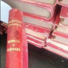 Libros antiguos: MUNILLA Y GUEVARA-RELACIONES CONTEMPORANEAS-EL DIABLO COJUELO. Lote 125121391