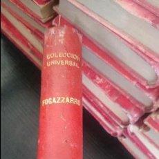 Libros antiguos: I Y II TOMOS-DANIEL CORTIS-ANTONIO FOGAZZARO. Lote 125122067