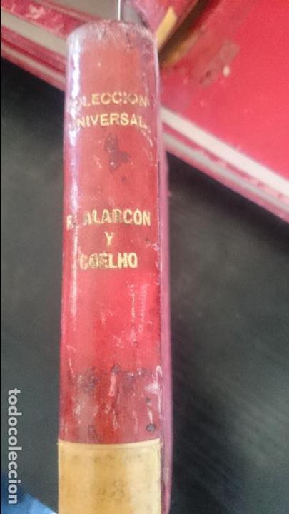 R.ALARCON-COELHO-LOS PECHOS PREVILIGIADOS-MIS AMORES (Libros antiguos (hasta 1936), raros y curiosos - Literatura - Narrativa - Novela Histórica)