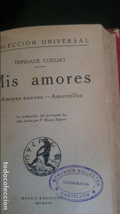 Libros antiguos: R.ALARCON-COELHO-LOS PECHOS PREVILIGIADOS-MIS AMORES - Foto 2 - 125127371