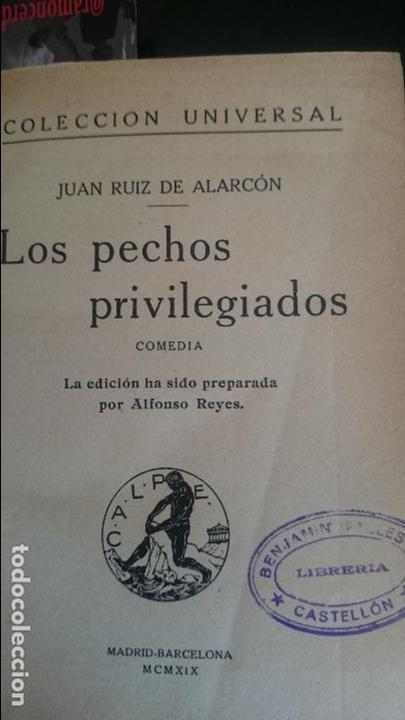 Libros antiguos: R.ALARCON-COELHO-LOS PECHOS PREVILIGIADOS-MIS AMORES - Foto 3 - 125127371