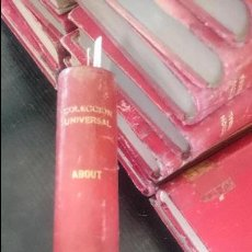 Libros antiguos: EDMUNDO ABUT-CASAMIENTOS PARISIENSES-TOMOS I -II-III. Lote 125128655