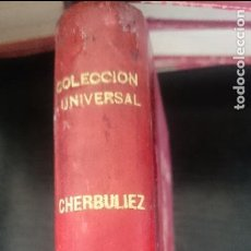 Libros antiguos: VICTOR CHERBULIEZ-EL CONDE KOSTIA-TOMO I Y II. Lote 125132287