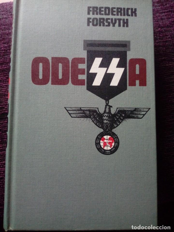 ODESSA DE FREDERICK FORSYTH (Alte, seltene und kuriose Bücher (bis 1936) - Literatur - Prosa - Historische Romane)
