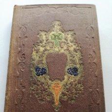 Libros antiguos: AVENTURAS DE UN MISÁNTROPO (1860) - CON 4 OTRAS NOVELAS: SOR BEATRIZ, JUAN BAUTISTA MONTAUBAN.... Lote 125422755