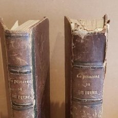 Libros antiguos: LA PRINCESA DE LOS URSINOS / MEMORIAS DEL TIEMPO DE FELIPE V / MANUEL FERNÁNDEZ / MADRID 1864. Lote 126001223