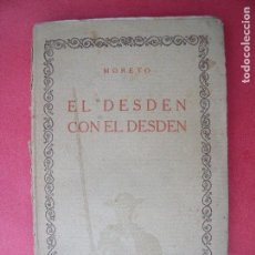 Libros antiguos: MORETO.-EL DESDEN CON EL DESDEN.-ENTREMESES.-COMPAÑIA IBERO-AMERICANA DE PUBLICACIONES.-MADRID.. Lote 128088591