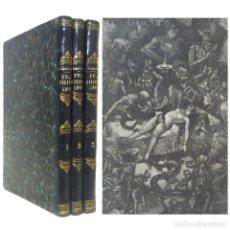 Libros antiguos: 1879 - FRA FILIPPO LIPPI, NOVELA HISTÓRICA. MAGNÍFICAS LÁMINAS GRABADAS. 3 GRANDES TOMOS ILUSTRADOS. Lote 159737958