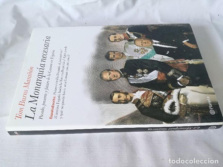 LA MONARQUIA NECESARIA-TOM BURNS MARAÑON (Libros antiguos (hasta 1936), raros y curiosos - Literatura - Narrativa - Novela Histórica)