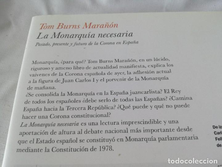 Libros antiguos: LA MONARQUIA NECESARIA-TOM BURNS MARAÑON - Foto 3 - 128679363