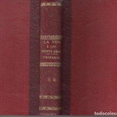 Libros antiguos: DOS LIBROS ALEJANDRO DUMAS LA VIDA A LOS VEINTE AÑOS FERNANDA LUIS TASSO 1887. Lote 128905111
