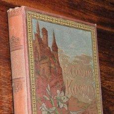 Libros antiguos: EL CONDE KOSTIA, VICTOR CHERBULIEZ, ARTE Y LETRAS. CASA EDITORIAL MAUCCI ENCUADERNACIÓN DE TAPA BLA. Lote 130736339