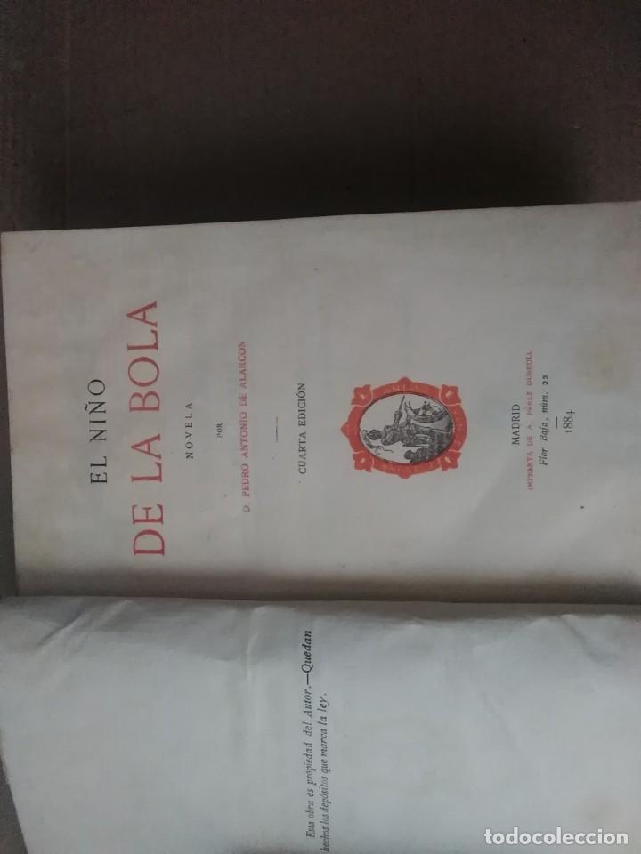 Libros antiguos: 6 libros de d, Pedro Antonio de alarcon (magníficos)1931 sucesores de ribadeneira s,a, - Foto 2 - 133056946