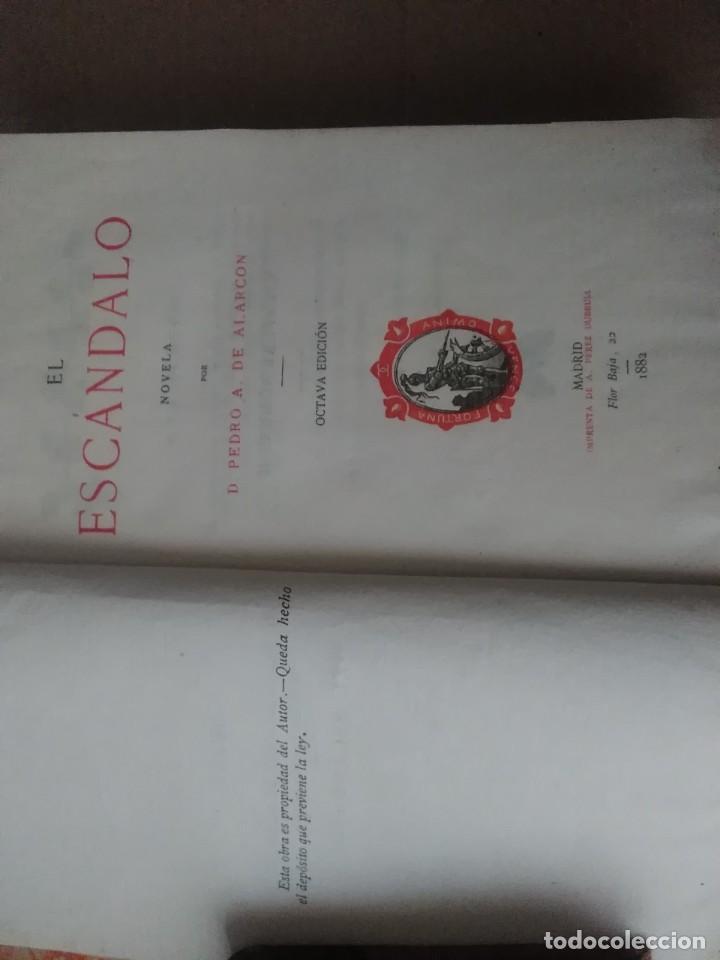 Libros antiguos: 6 libros de d, Pedro Antonio de alarcon (magníficos)1931 sucesores de ribadeneira s,a, - Foto 3 - 133056946