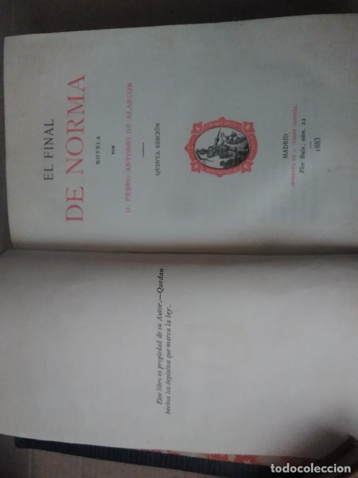 Libros antiguos: 6 libros de d, Pedro Antonio de alarcon (magníficos)1931 sucesores de ribadeneira s,a, - Foto 4 - 133056946