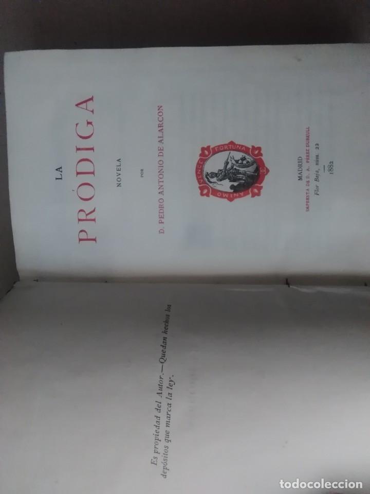 Libros antiguos: 6 libros de d, Pedro Antonio de alarcon (magníficos)1931 sucesores de ribadeneira s,a, - Foto 5 - 133056946