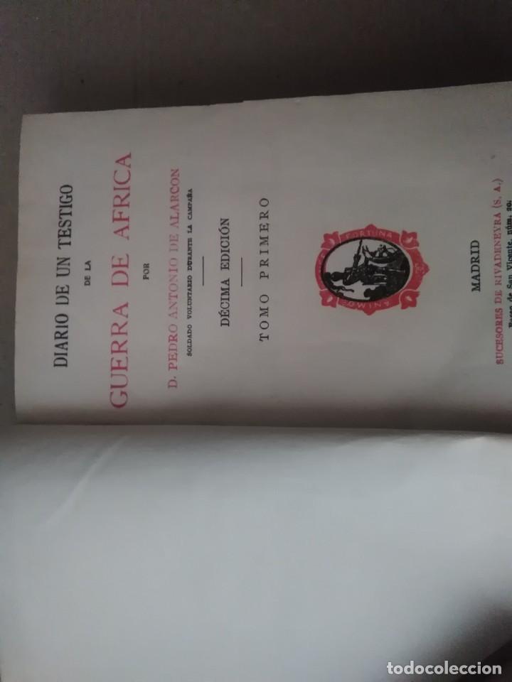 Libros antiguos: 6 libros de d, Pedro Antonio de alarcon (magníficos)1931 sucesores de ribadeneira s,a, - Foto 6 - 133056946