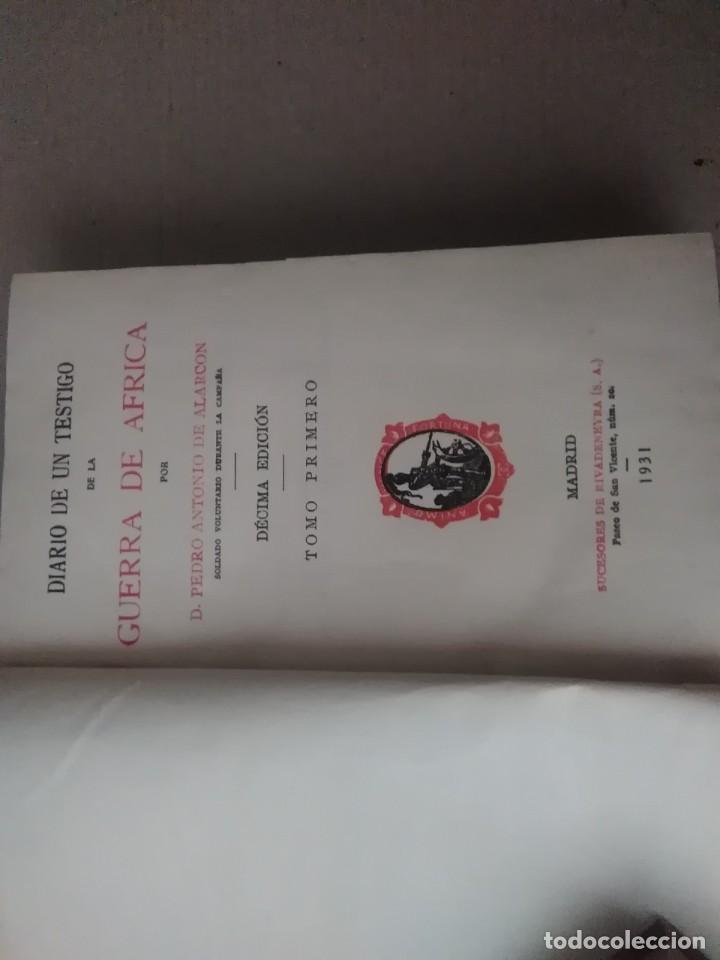 Libros antiguos: 6 libros de d, Pedro Antonio de alarcon (magníficos)1931 sucesores de ribadeneira s,a, - Foto 7 - 133056946