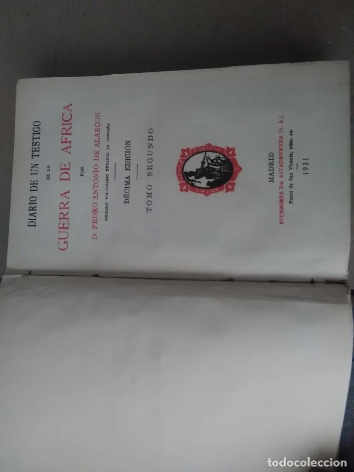 Libros antiguos: 6 libros de d, Pedro Antonio de alarcon (magníficos)1931 sucesores de ribadeneira s,a, - Foto 8 - 133056946