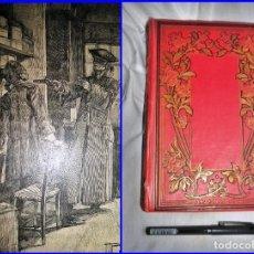 Libros antiguos: PRECIOSO LIBRO ILUSTRADO DE MÁS DE 100 AÑOS DE ANTIGÜEDAD. 25 CM. DE ALTO.. Lote 134049838