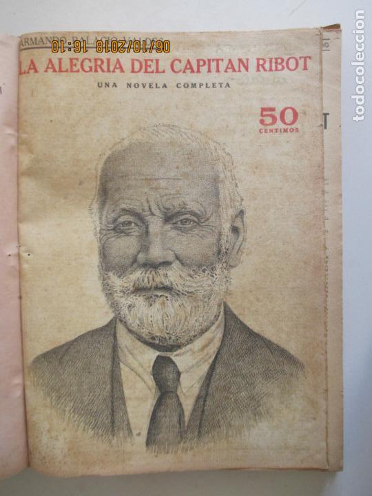 Libros antiguos: REVISTA LITERARIA. NOVELAS Y CUENTOS. 13 OBRAS EN ESTE VOLUMEN. VER FOTOS. 1932 - Foto 2 - 135520190