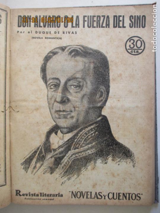 Libros antiguos: REVISTA LITERARIA. NOVELAS Y CUENTOS. 13 OBRAS EN ESTE VOLUMEN. VER FOTOS. 1932 - Foto 3 - 135520190