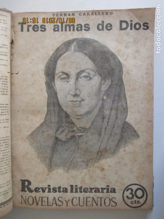 Libros antiguos: REVISTA LITERARIA. NOVELAS Y CUENTOS. 13 OBRAS EN ESTE VOLUMEN. VER FOTOS. 1932 - Foto 5 - 135520190