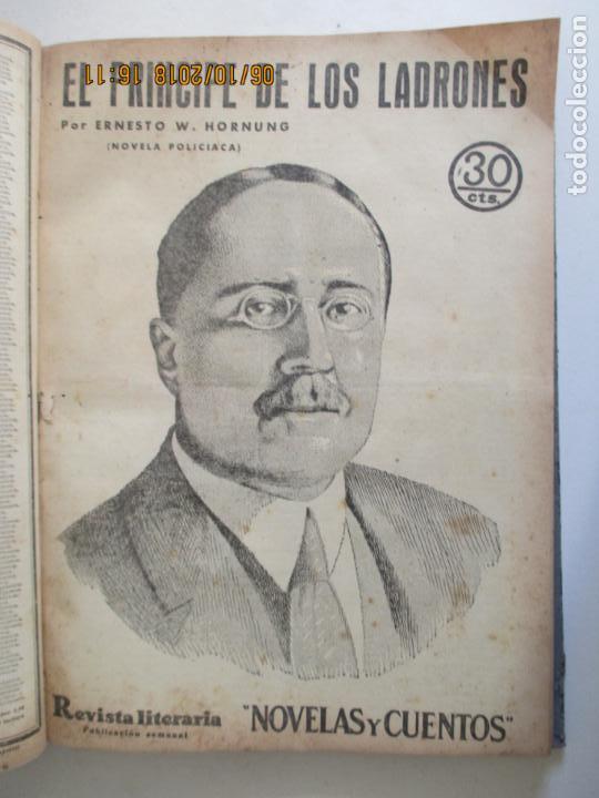 Libros antiguos: REVISTA LITERARIA. NOVELAS Y CUENTOS. 13 OBRAS EN ESTE VOLUMEN. VER FOTOS. 1932 - Foto 7 - 135520190