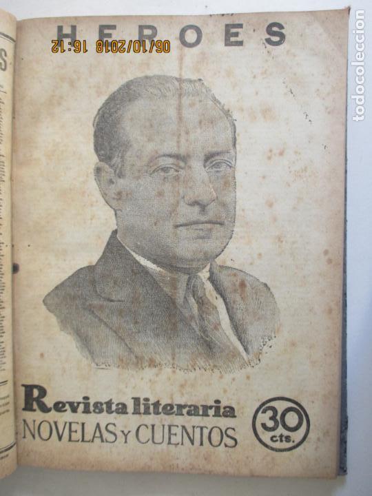 Libros antiguos: REVISTA LITERARIA. NOVELAS Y CUENTOS. 13 OBRAS EN ESTE VOLUMEN. VER FOTOS. 1932 - Foto 9 - 135520190