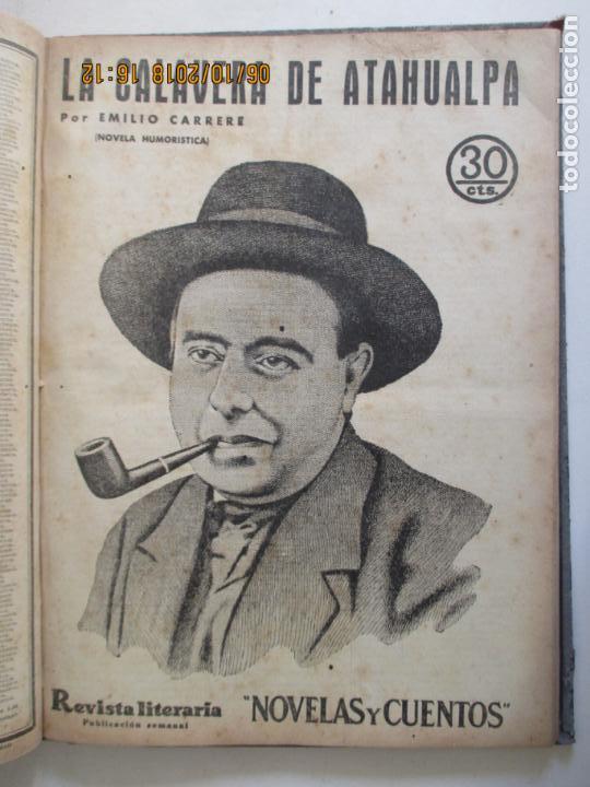 Libros antiguos: REVISTA LITERARIA. NOVELAS Y CUENTOS. 13 OBRAS EN ESTE VOLUMEN. VER FOTOS. 1932 - Foto 11 - 135520190