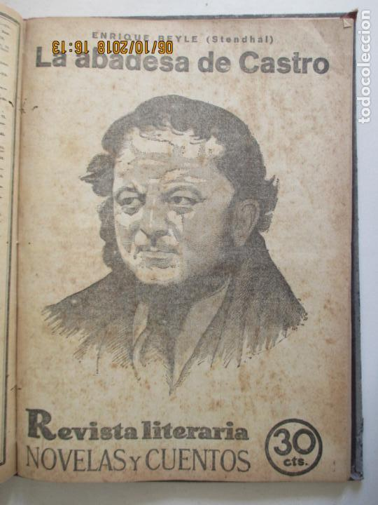 Libros antiguos: REVISTA LITERARIA. NOVELAS Y CUENTOS. 13 OBRAS EN ESTE VOLUMEN. VER FOTOS. 1932 - Foto 12 - 135520190