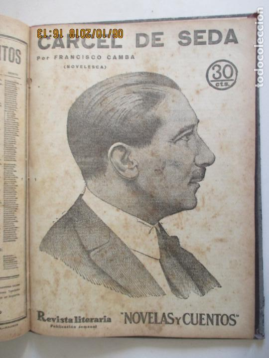 Libros antiguos: REVISTA LITERARIA. NOVELAS Y CUENTOS. 13 OBRAS EN ESTE VOLUMEN. VER FOTOS. 1932 - Foto 13 - 135520190
