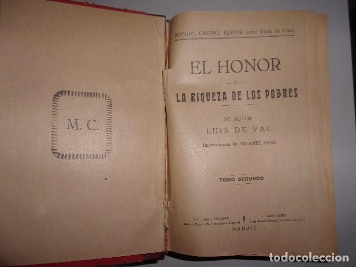 Libros antiguos: LA RIQUEZA DE LOS POBRES - LUIS DE VAL - TOMO SEGUNDO. - Foto 3 - 136442490