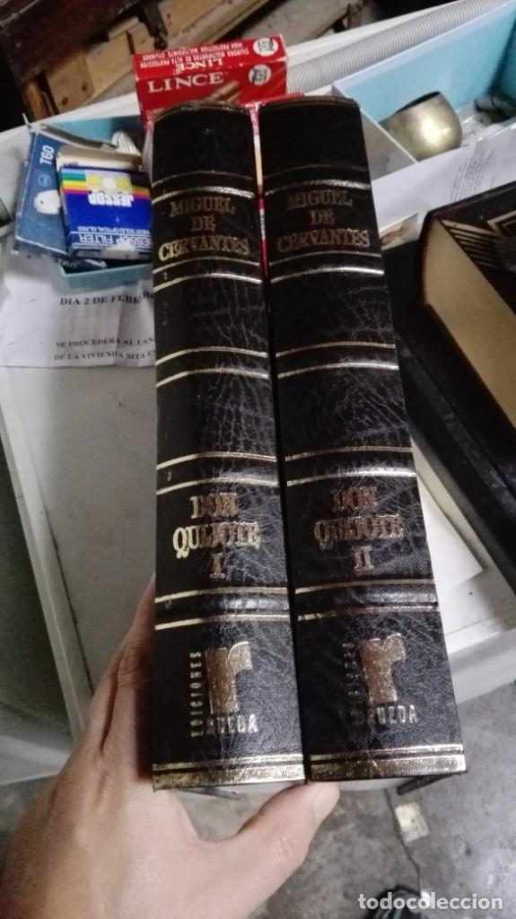 DON QUIJOTE DE LA MANCHA , 2 TOMOS , EDICIONES RUEDA (Libros antiguos (hasta 1936), raros y curiosos - Literatura - Narrativa - Novela Histórica)