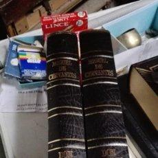 Libros antiguos: DON QUIJOTE DE LA MANCHA , 2 TOMOS , EDICIONES RUEDA. Lote 138592806