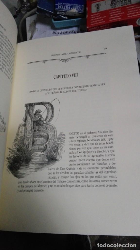 Libros antiguos: DON QUIJOTE DE LA MANCHA , 2 TOMOS , EDICIONES RUEDA - Foto 4 - 138592806