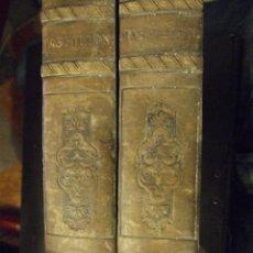 Libros antiguos: OEUVRES DE MASSILLON I & II - EVEQUE DE CLERMONT - CHEZ LEFEVRE 1833 COMPLETO. Lote 139097714