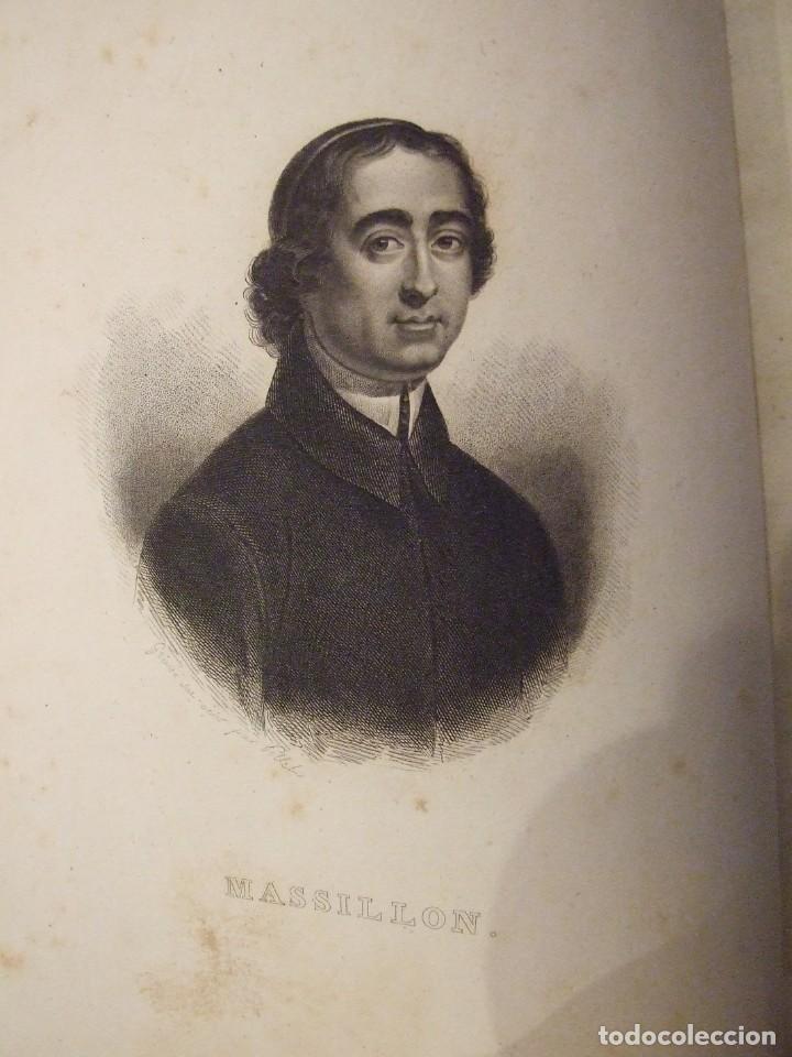 Libros antiguos: OEUVRES DE MASSILLON I & II - EVEQUE DE CLERMONT - CHEZ LEFEVRE 1833 COMPLETO - Foto 3 - 139097714