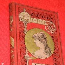 Libros antiguos: ELENA DE LA SEIGLIERE, DE JULIO SANDEAU, ILUSTRACION DE BAYARD. ED. MAUCCI CA.1900. Lote 140892674