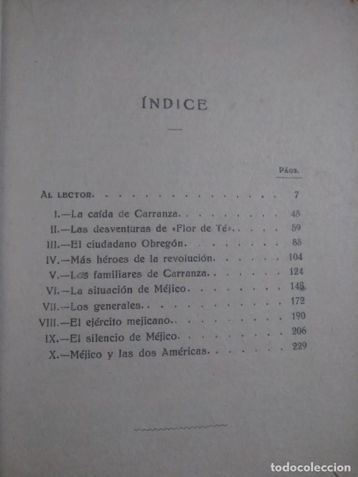 Libros antiguos: EL MILITARISMO MEJICANO VICENTE BLASCO IBAÑEZ EDITORIAL PROMETEO 1920 - Foto 3 - 142129514